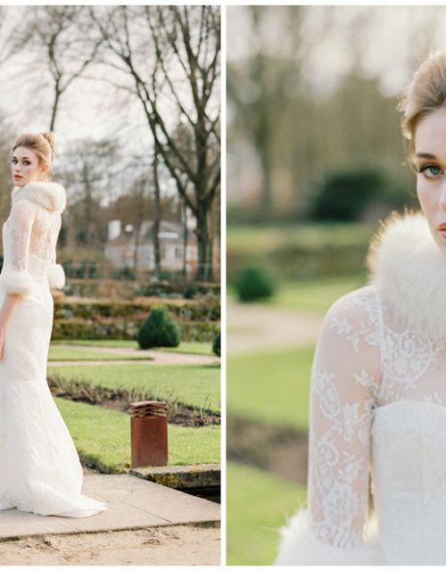Elegant winter bride inspiration