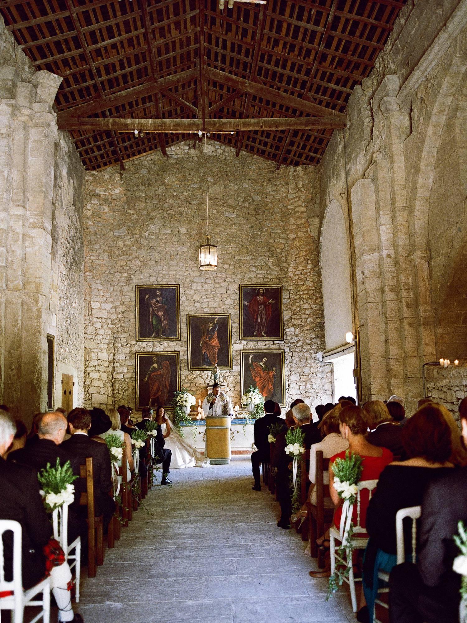 château wedding Provence