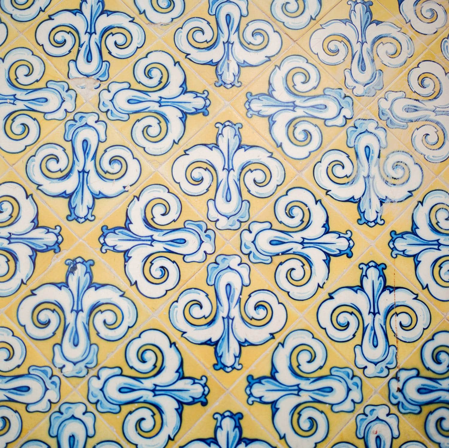 spanish tile art