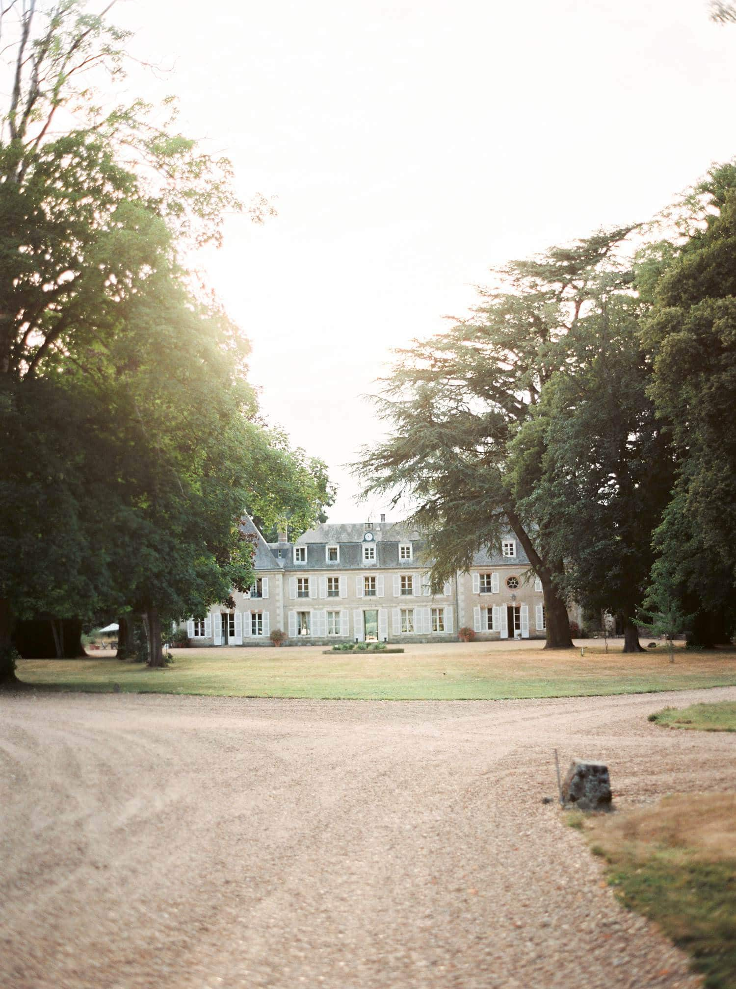 wedding venue - chateau de bouthonvilliers