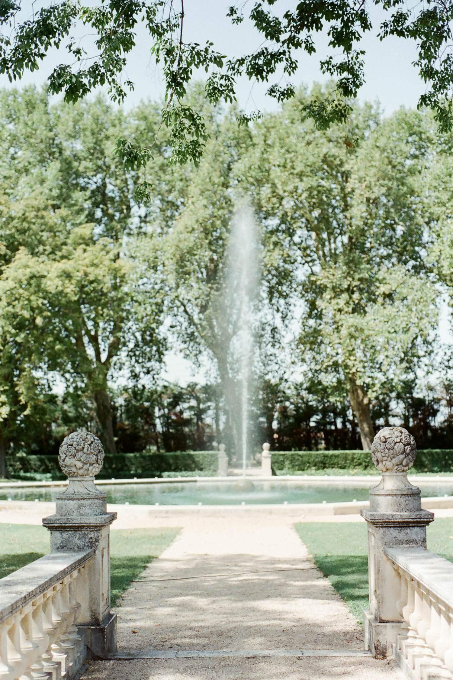 chateau de tourteau - gardens