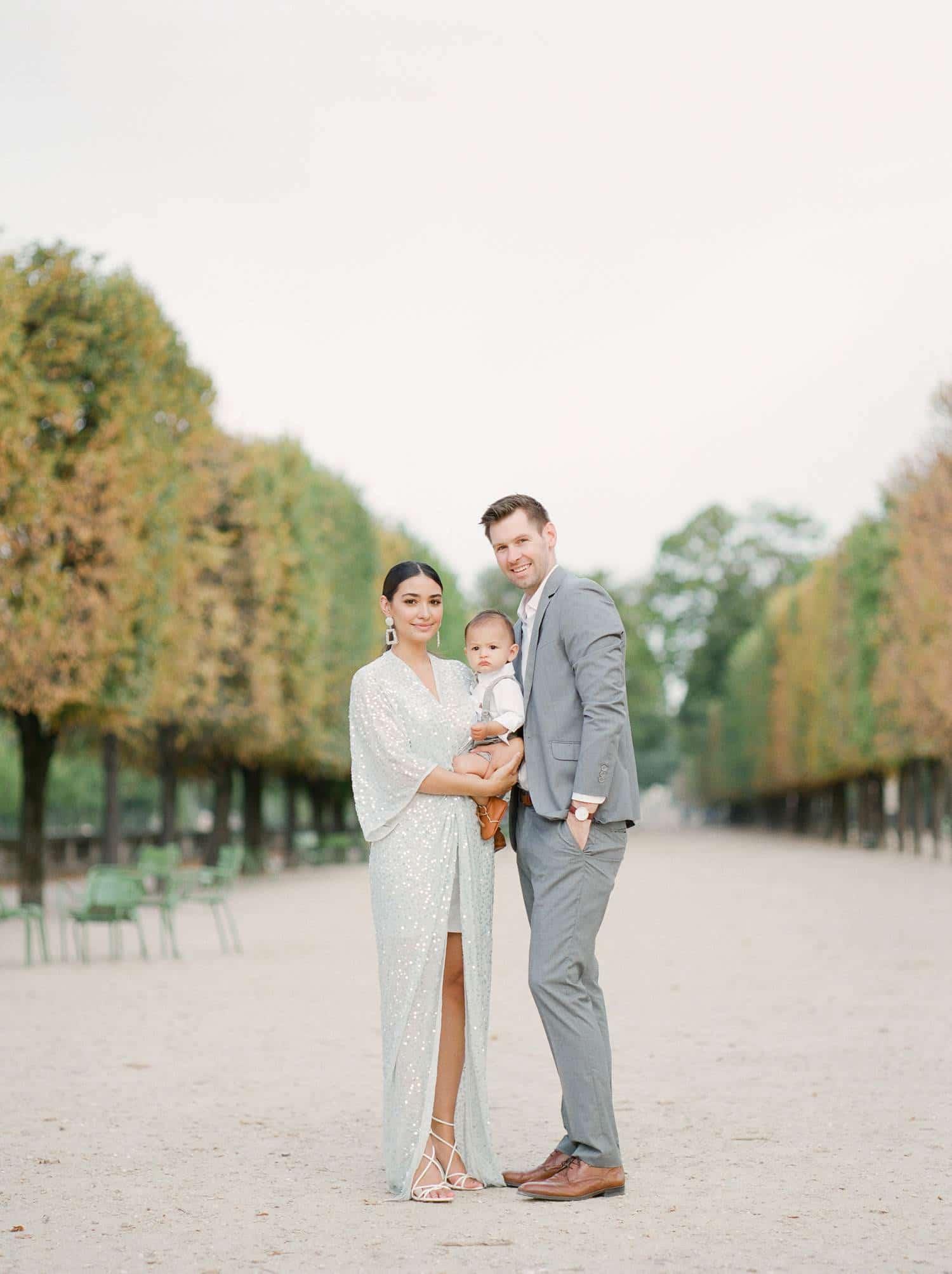 Paris family photos