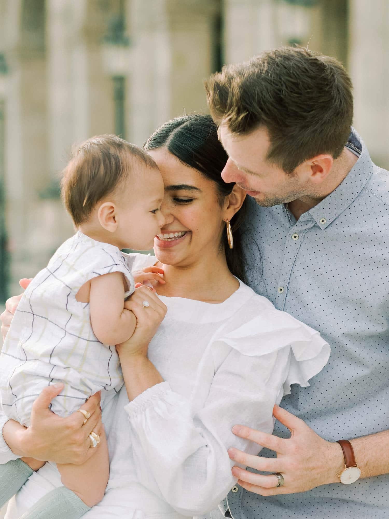 Paris family portraits