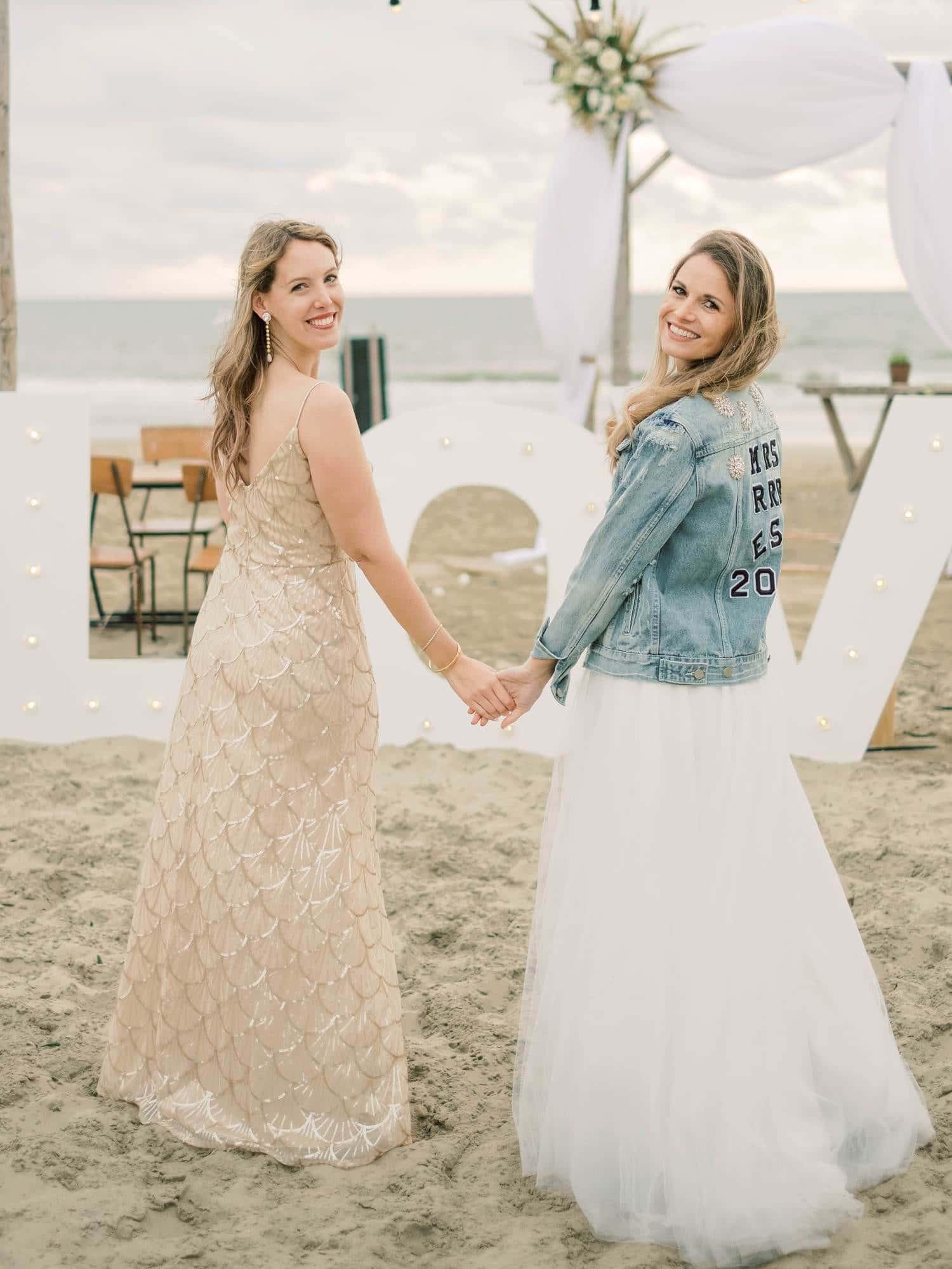 beach wedding Zandvoort