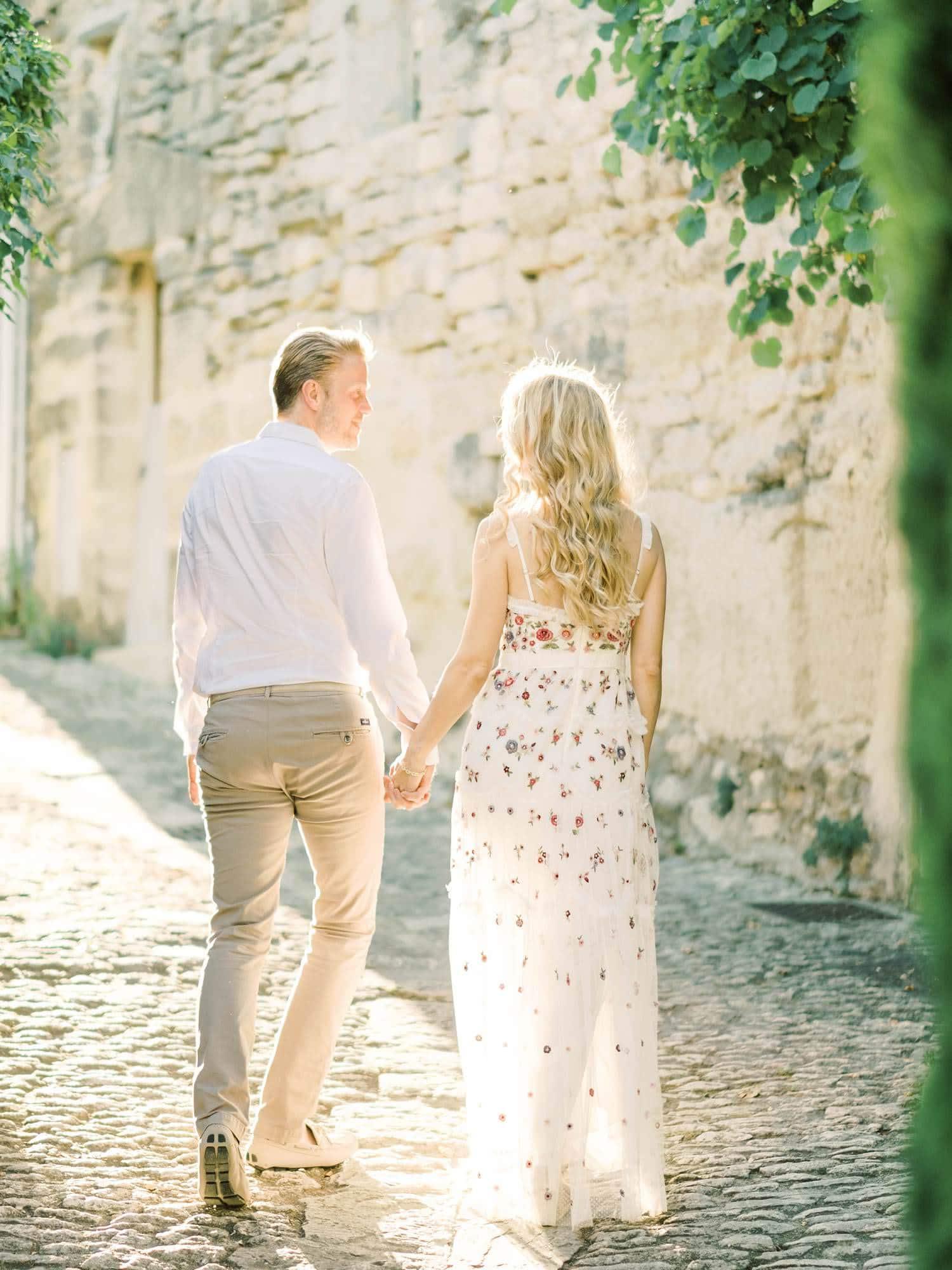 Provence engagement